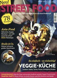 Einfach & vielseitig: #Veggie-Küche (#Salat, #Tarte, #Pizza, #Eintopf & #Nudeln) 🍴  Jetzt in Street Food Magazin, Ausgabe 2/2016.