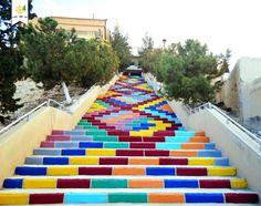 Enfin de la couleur en Syrie
