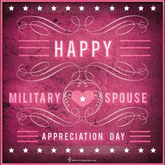To all the Military Spouses, thank you for all you do! #militaryspouse #military