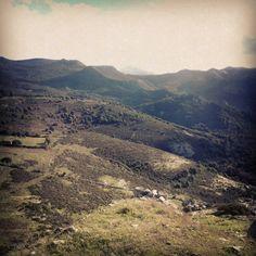 Montiferru, vista da casteddu etzu