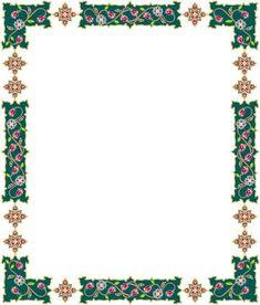 Undangan Pernikahan: Bingkai undangan dan clipart 17 Frame Border Design, Page Borders Design, Wicca, Vision Art, Book Of Shadows, Science And Nature, Deco, Diy And Crafts, Stationery