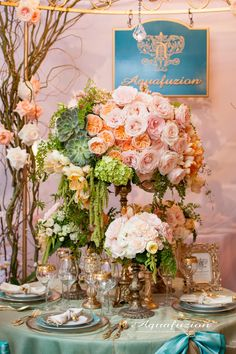 I Do Bridal Show Floral Display by Aquafuzion