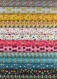 Allison Cole, Birds of a Feather in FAT QUARTERS 13 Total $36.00