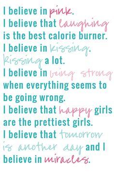 I Believe Quote