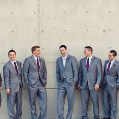 something like this, except blue ties?