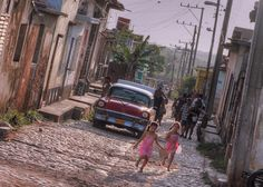 Stepping Back in Time-Cuba Girls by @Doug88888, via Flickr
