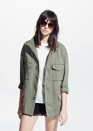 Image result for The military jacket trend ladies