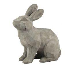 Modern nyúl dekoráció Garden Sculpture, Lion Sculpture, Cement, Statue, Outdoor Decor, Modern, Home Decor, Art, Art Background