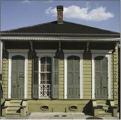 Paul Morphy, Shotgun House, Gazebo, Houses, Outdoor Structures, Architecture, American, Outdoor Decor, Home Decor