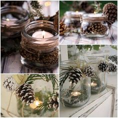 Christmas 2017, Christmas Holidays, Christmas Cards, Flower Decorations, Christmas Decorations, Table Decorations, Natural Christmas, Wedding Designs, Diy And Crafts