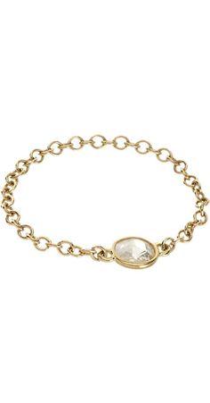 Finn Black Diamond & Rose Gold Chain Ring -  - Barneys.com