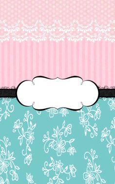 Cute pink #freelabel #labeldesign #eveiolabel #owndesign #girlylabel #vintagelabel #cutelabel #blackandpink #cutelabel