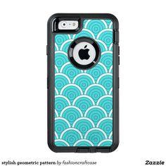 stylish geometric pattern OtterBox iPhone 6/6s case