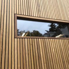 Exterior Wall Cladding Facades Woods Super Ideas is part of Timber cladding - Wooden Cladding Exterior, Larch Cladding, House Cladding, Wood Facade, Facade House, Wood Architecture, Architecture Details, Building A Garage, Backyard Office