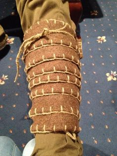woven wool winagas -note edging...