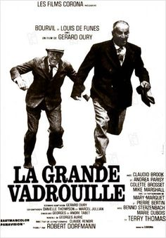 La Grande Vadrouille until the release of Bienvenue chez les Ch'tis in La Grande Vadrouille was the most successful French film in France, topping the box office with over cinema admissions French Movies, Old Movies, Classic Movies, Films Cinema, Cinema Posters, Movie Posters, Film Movie, Film Tim Burton, Vintage Movies