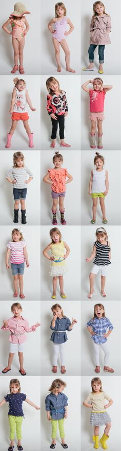 THE cutest little girl's outfits.. ahh now I want a little girl to dress up ;)