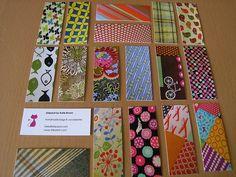 Moo mini cards #Moo