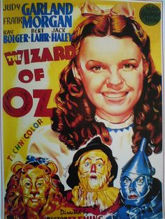 Photo: Wizard of Oz, Judy Garland Poster : Wizard Of Oz Movie, Wizard Of Oz 1939, Movie Tv, Old Movie Posters, Classic Movie Posters, Classic Movies, Old Movies, Vintage Movies, Great Movies