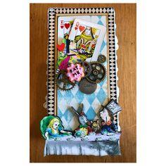 Alice in Wonderland Mad Tea Party Gift Box - https://www.etsy.com/shop/AllisonCraftland
