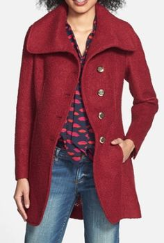 beautiful burgundy coat  http://rstyle.me/n/qzhj2pdpe