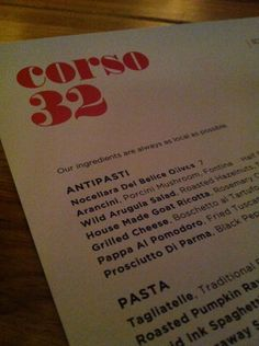 """See 30 photos and 14 tips from 274 visitors to Corso """"""""My chocolate of choice? The decadently dark chocolate torta topped with salty, candied. Porcini Mushrooms, Stuffed Mushrooms, Arancini, Arugula Salad, House Made, Places To Eat, Roast, Good Food, Abs"""