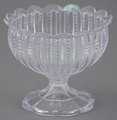 "Simple elegant centerpieces that can be favors as well. 6"" Chalice Vase - Crystal Clear"
