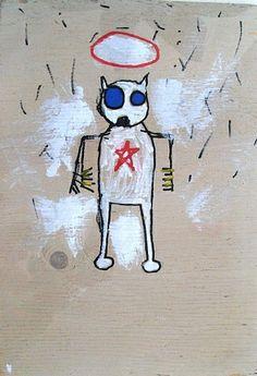 Jean-Michel Basquiat - Underground Art - Urban Art - Neo-Expressionism - Untitled