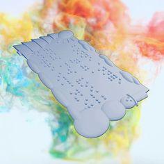 """404 mentions J'aime, 8 commentaires - KINITAL ® (@kinital_officiel) sur Instagram: """"Pensez à commander vos cartes de voeux en braille imprimées en 3d sur notre boutique ! Les…"""" Braille, Officiel, Boutique, Instagram, 3d Printer, Greeting Cards, Thinking About You, Stone, Boutiques"""