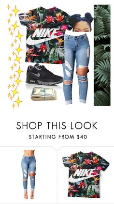 """Untitled #83"" by bxbysnoop ❤ liked on Polyvore featuring NIKE"
