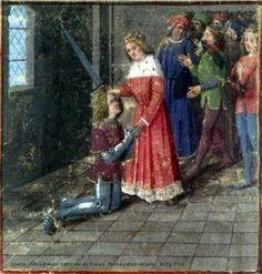 Adoubement de Lancelot