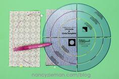 Nancy Zieman | September 2015 Block of the Month | Celestial Circle