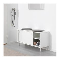 IKEA MACKAPÄR bench with storage compartments