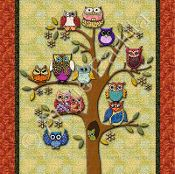 Life's a Hoot! - via @Craftsy - cute wall hanging