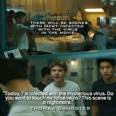 I just saw the scorch trials guys! It was overall really entertaining, thrilling, and exciting and as usual the actors and actresses portrayed the characters amazingly but WARNING it is literally nothing like the book.