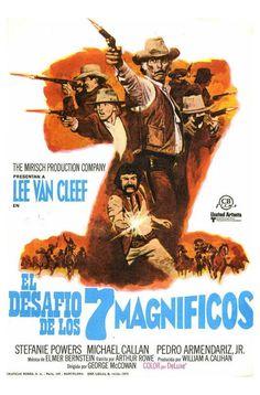 El desafío de los siete magníficos - The Magnificent Seven ride!