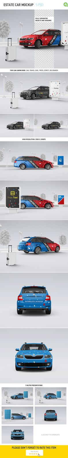 Car Mockup | Billboard Mock-up on Behance