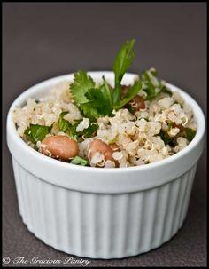 Cilantro Quinoa Salad #quinoa #salad