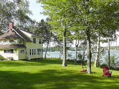 2 Nights in this Cottage on Lake Elmore, Vermont.