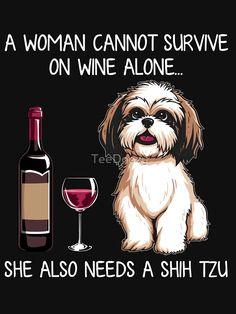 Perro Shih Tzu, Shih Tzu Puppy, Shih Tzus, Funny Animal Pictures, Funny Animals, Cute Animals, Cute Puppies, Cute Dogs, T Shirt Chien