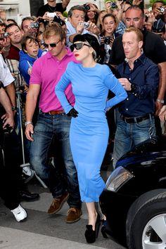 Lady Gaga struts her stuff at Cannes Film Festival
