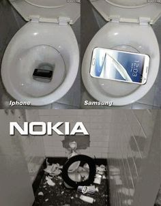 Texting and Your Phone Accidentally Falls In the Toilet #lol   #android   #nokia   #apple   #texting   #Samsung