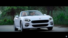 Watch: Fiat turns rare white-tailed eagle into camera rig for latest 124 ad | Autoweek