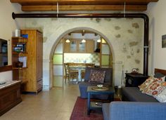 Beautifully Renovated Traditional Stone House in Vori, South Crete, Greece. - Faistos