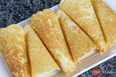 This easy krumkake recipe is a holiday staple at our house. It produces light and flaky cookies that literally melt in your mouth. Learn how to make them here. Christmas Desserts, Christmas Treats, Christmas Baking, Christmas Cookies, Holiday Meals, Holiday Baking, Krumkake Recipe, Norwegian Food, Norwegian Recipes