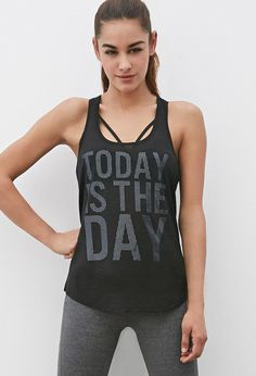FOREVER 21 Today Workout Tank $12.90