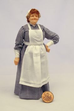 Colvin Dolls Mrs. Patmore 1:12 Scale