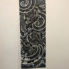 irezumi chrysanthemum With pattern design. Japan Tattoo Design, Wolf Tattoo Design, Japanese Tattoo Designs, Japanese Tattoo Art, Japanese Sleeve Tattoos, Japanese Art, Dr Tattoo, Tatoo Art, Cover Tattoo