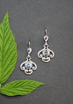 Belly Button Rings, Drop Earrings, Jewelry, Fashion, Ear Jewelry, Light Blue, Neck Chain, Silver, Nice Asses