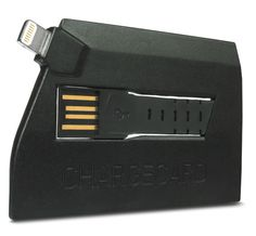 ChargeCard is your iPhone lightning cable, shaped like a credit card. It's designed to fit into your wallet just like a credit card, so you'll always have a charging/sync cable on you. Use ChargeCard to charge your iPhone from any USB port.